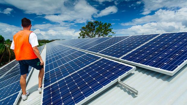 home solar battery scheme