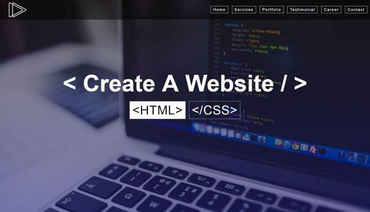 creating a website0