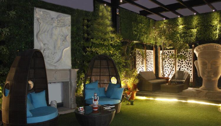 Garden Into A Luxury Space